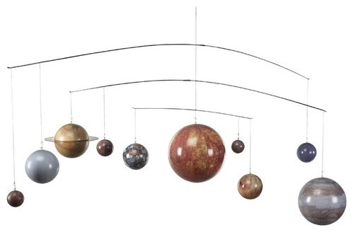 Authentic Models Solar System Mobile traditional mobiles