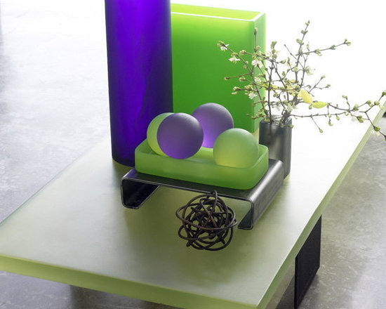Martha Sturdy - Martha Sturdy accessories - Love the combination of green and purple resin, such fun bright pieces.