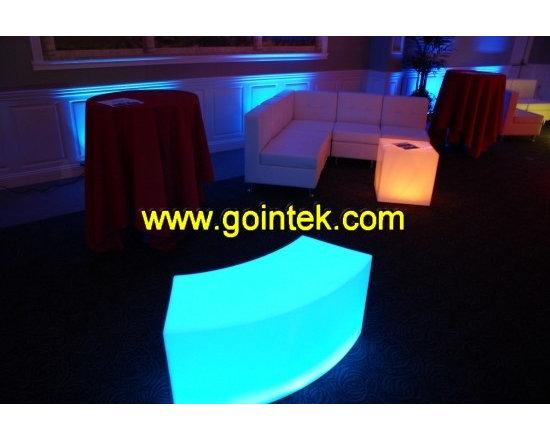 led illuminated wedding and party decoration furniture design -