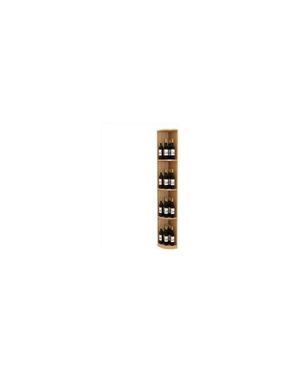 Lattice Quarter Round Wine Display - The Lattice Quarter Round Wine Display is part of our 6' Series.