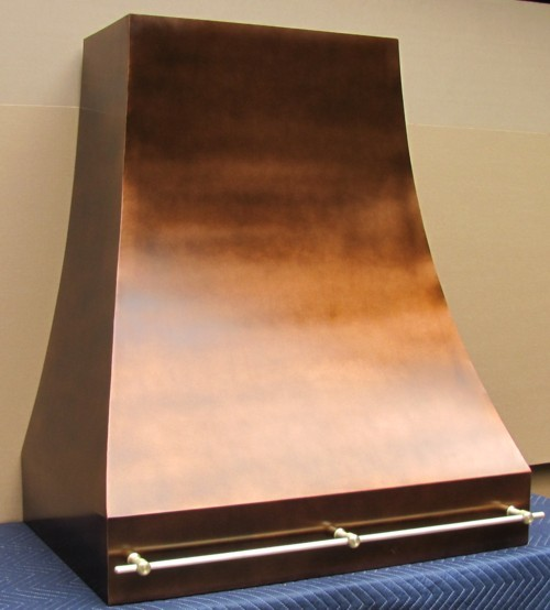 copper range hood traditional range hoods and vents