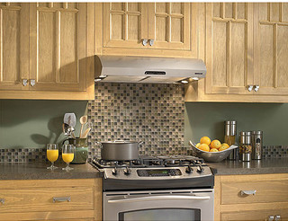 Broan Evolution 2 Series 30-inch Stainless Steel Under-cabinet Range Hood - Contemporary - Range ...