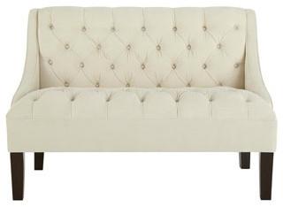 """Darlene"" Settee traditional-sofas"
