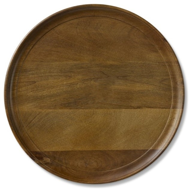 Venezia Wooden Charger traditional tabletop