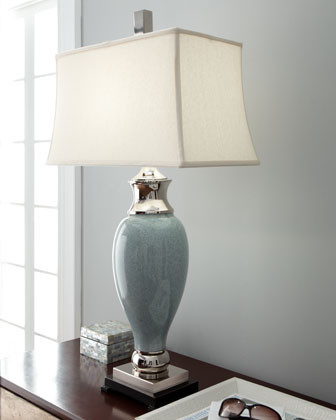 Frozen Water Table Lamp traditional-table-lamps