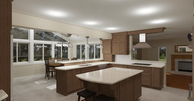 Falcon Brook Addition traditional-rendering