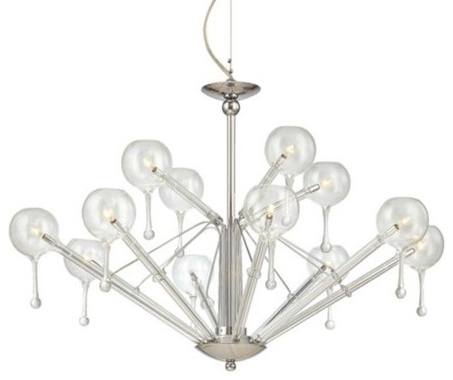 No. P846-9 Chandelier contemporary chandeliers