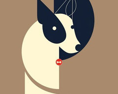 Mid-Century Modern Art Illustrations by Eleanor Grosch modern-artwork