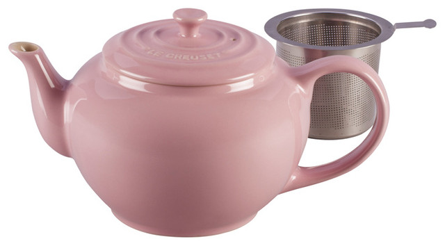 Le Creuset Large Teapot With Steel Infuser traditional-teapots