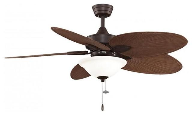 Fanimation FP7500RSP4LK Two Light Bronze Ceiling Fan Windpointe Collection ceiling-fans