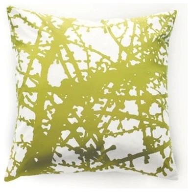 Unison LARCH Moss Square Pillow contemporary-decorative-pillows