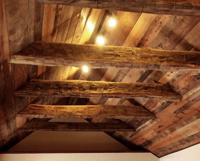 Antique reclaimed barn beams traditional other metro