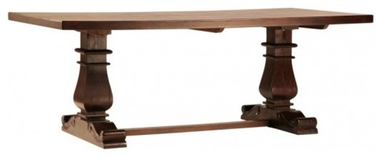 Dovetail Lauren Dining Table traditional-furniture