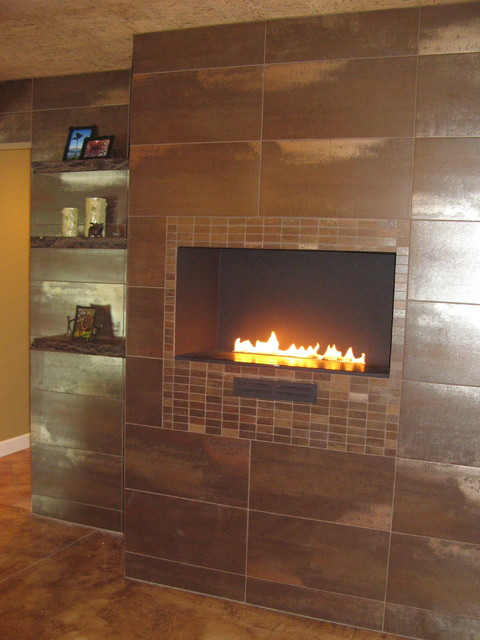 Timmer Cottage Home contemporary-basement