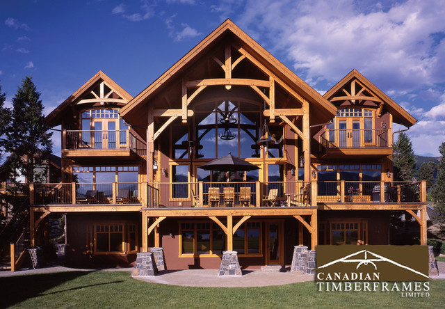 Custom timber frame homes for Custom a frame homes