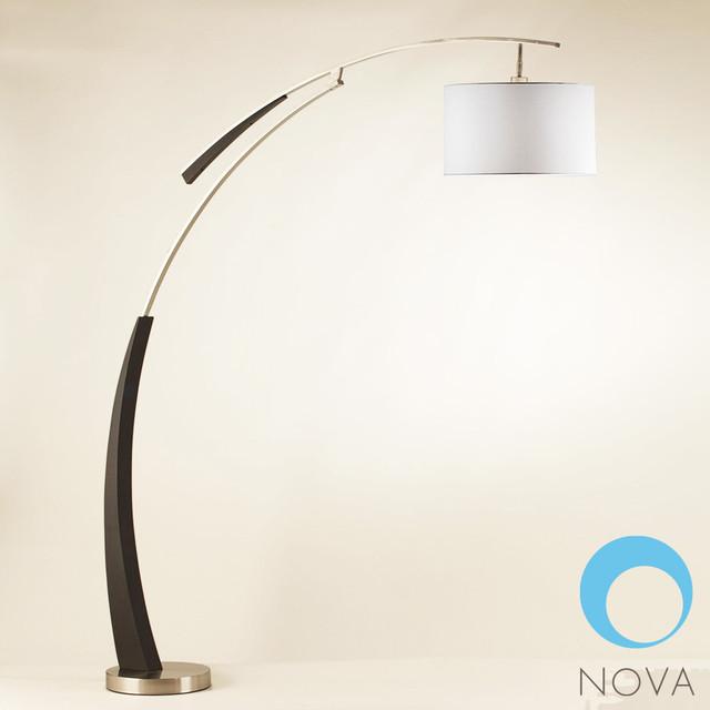 nova launch arc floor lamp modern floor lamps los angeles by. Black Bedroom Furniture Sets. Home Design Ideas