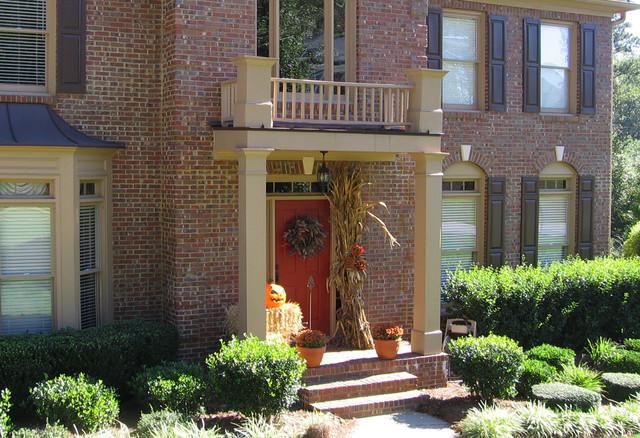 Portico designs for Georgian front porch designs