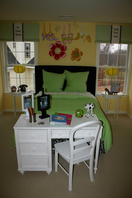 Stonewall Manor Model Home eclectic kids