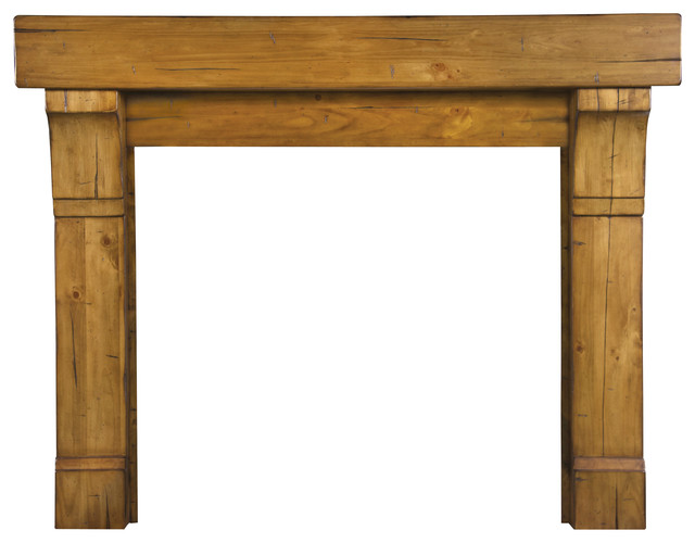 The Cumberland Fireplace Surround Natural Rustic 48 Contemporary Fireplace Mantels By