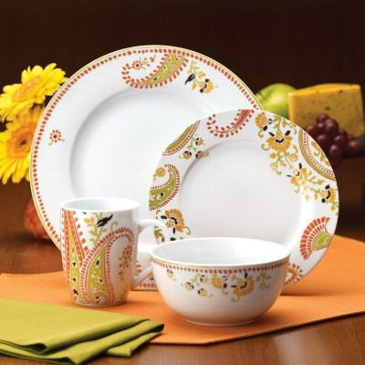 You can plan a structured dinner party as incentive to get new dishes, or ju modern-dinnerware