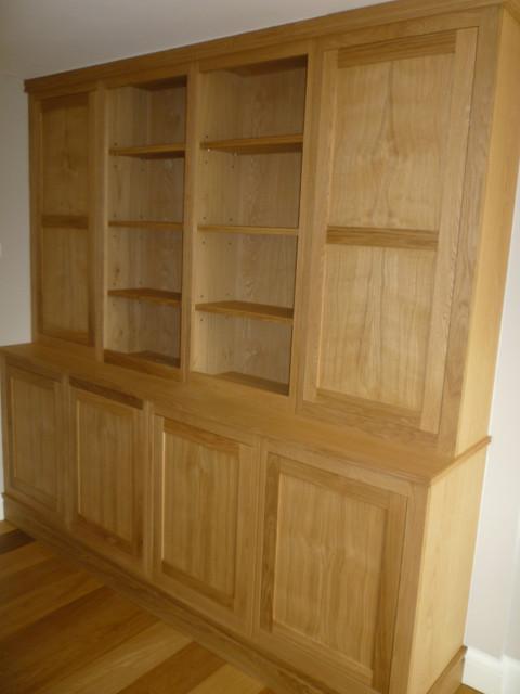Oak office cabinet - Home Office Accessories - london - by SBT Design