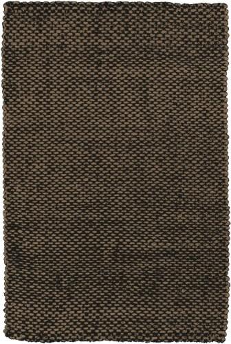 Reeds Natural Fibers Hand Woven 100% Jute Dark Brown Rug REED-826 rugs