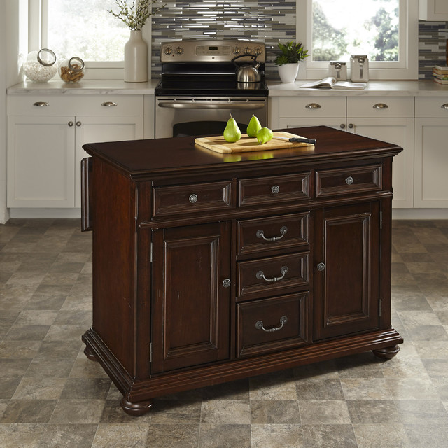 Awesome Houzz Kitchen Islands: Colonial Classic Kitchen Island