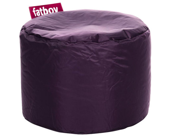 Fatboy - Fatboy Point Beanbag Ottoman, Dark Purple - Everyone has that one thing in life they are really good at. Not me. I have 46. For instance, I'm really good at holding up your aching feet, or giving the kids something comfortable to sit on while watching TV. You can roll me around like a barrel if you feel the urge to. It would be my pleasure. Simply put, I'm here to make your life easier. That is what I like being good at most of all.                                                                                                                                                                                                                                                                                                             - Fun and multifunctional bean bag ottoman from Fatboy has endless uses from functional seating for kids to making the perfect foot rest. You can use it for reading, watching TV, cuddling, relaxing, and creating a wonder-fuller life for all - you get the point!