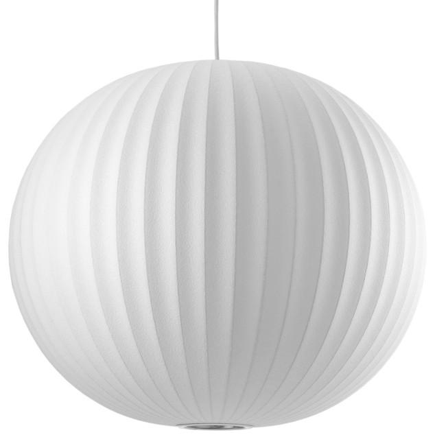George Nelson Bubble Pendant Lamp, Ball, Large | Modernica midcentury-pendant-lighting
