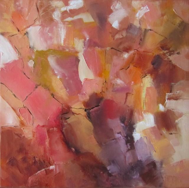 """Crystal Cascade"" Artwork contemporary-originals-and-limited-editions"