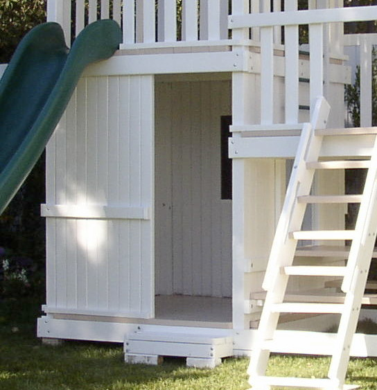 Swing Set Additions - Full Bottom Enclosure craftsman-kids-playsets-and-swing-sets