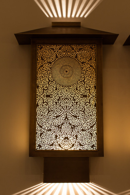 Luxury Exterior Wall Lights : Luxury Moroccan Lanterns - Arts & Crafts - Outdoor Wall Lights And Sconces - boston - by ...