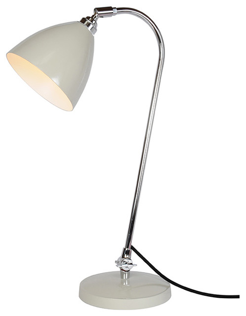 Original BTC - Task Solo Desk Lamp in Putty Grey contemporary-table-lamps