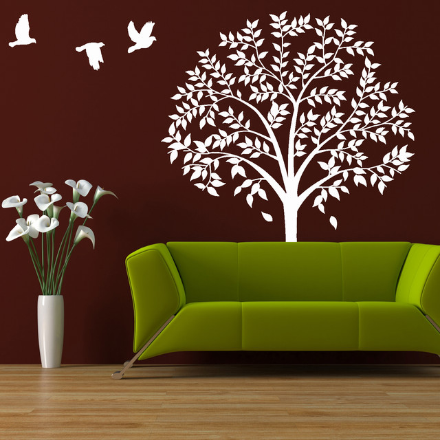 Wall Tree Decal Large Tree Forest Nature Wall Decor
