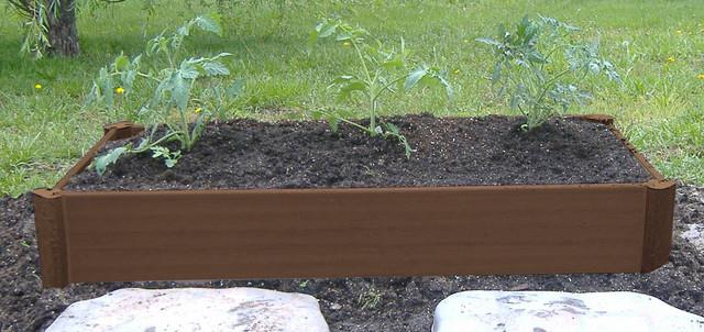"Raised Garden Beds- 8"" Raised Half Bed gardening-tools"