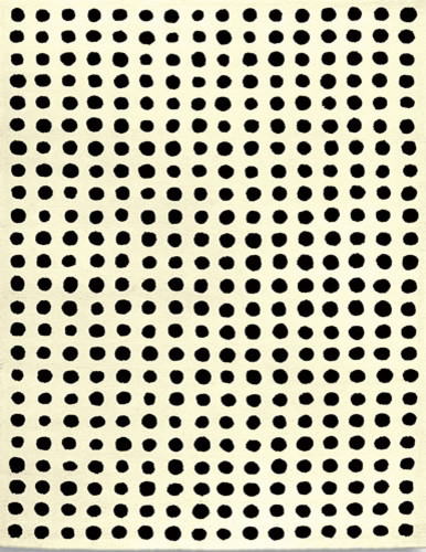 white and black polka dot rug modern rugs by art home