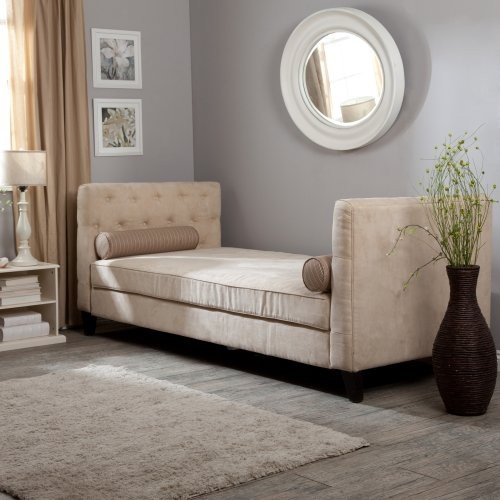 Melrose Daybed- Taupe - contemporary - day beds and chaises - by ...