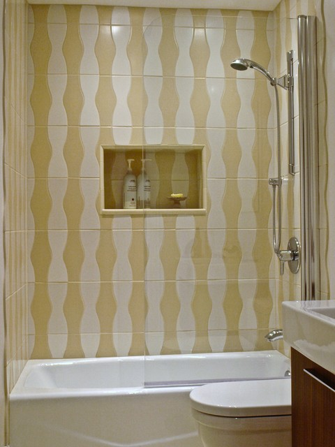 Bathtub Shower Screen Installations - modern - shower curtains