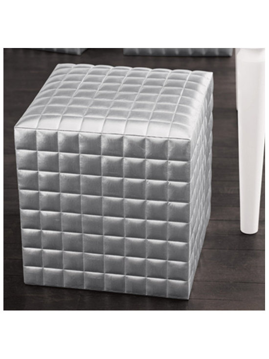 Silve Patent Leather Cube -