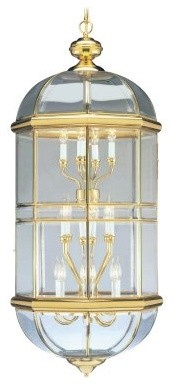 Livex Beacon Hill 4095-02 Chandelier - Polished Brass - 20.5W in. modern-chandeliers