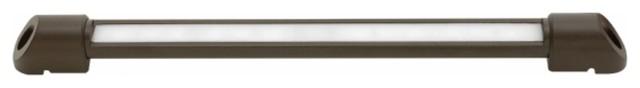 Hinkley Lighting 15442BZ Nexus Hardscape LED Outdoor Deck Light - Large contemporary-lighting