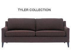 Tyler Sofa | Mitchell Gold contemporary sofas