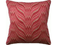 Agni Berry Pillow contemporary pillows