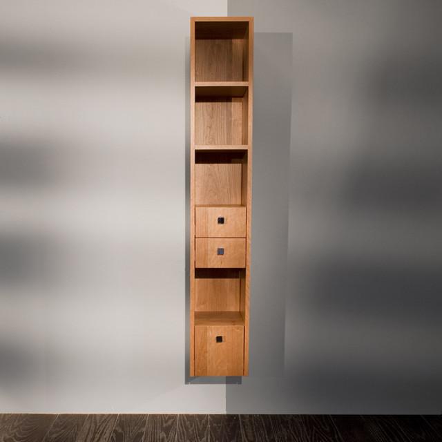 Wonderful Tall Bathroom Storage Cabinet Matt Finish 2 Doors Amp 1 Shelf EBay