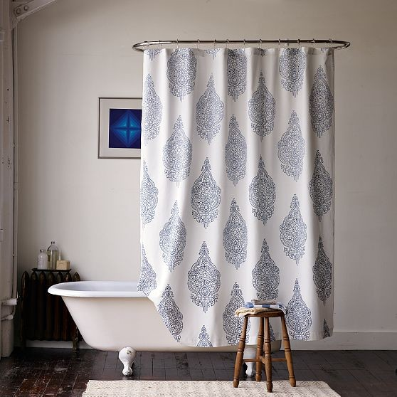 new medallion shower curtain modern shower curtains