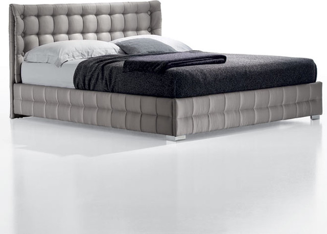 Chantal Upholstered Buttoned Bed by Europeo  beds