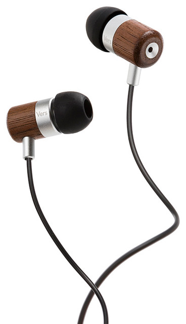 Vers Audio - 7E Enhanced Bass Earphones Walnut modern-home-electronics