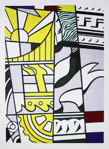 Roy Lichtenstein modern-artwork