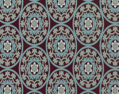 DwellStudio Suzani Fabric, Azure eclectic fabric