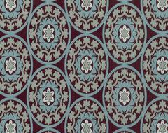 DwellStudio Suzani Fabric, Azure eclectic-fabric